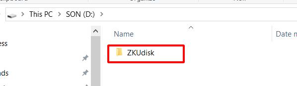 ZkUdisk