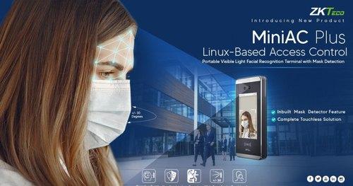 Máy chấm công khuôn mặt MiniAC Plus nhận dạng góc rộng
