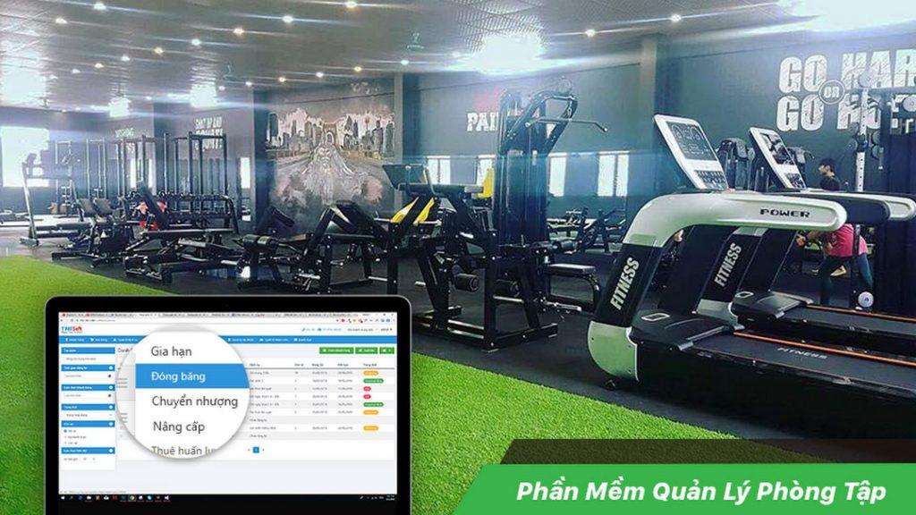 Phần mềm quản lý phòng Gym TimeSOFT