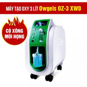 Máy tạo oxy 3 lít Owgels OZ-3-01XW0 (OZ-3-02HWO) - Có xông mũi