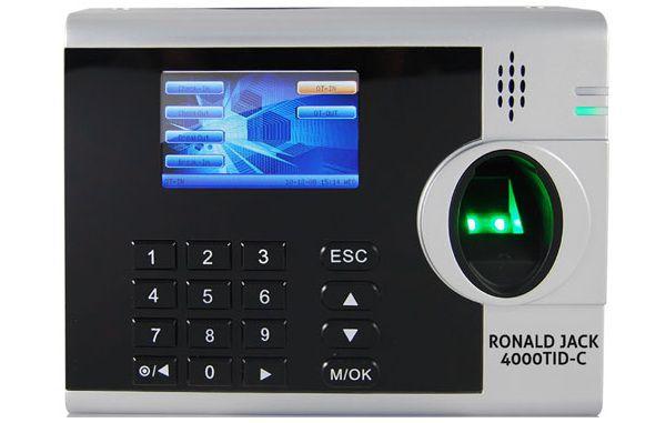 Máy chấm công Ronald Jack 4000TID-C được nhiều doanh nghiệp lựa chọn