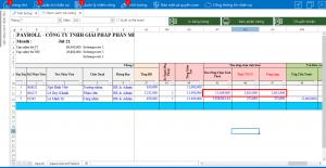 Thuế thu nhập cá nhân, thuế TNCN, TNCN trên phần mềm Paradise HRM